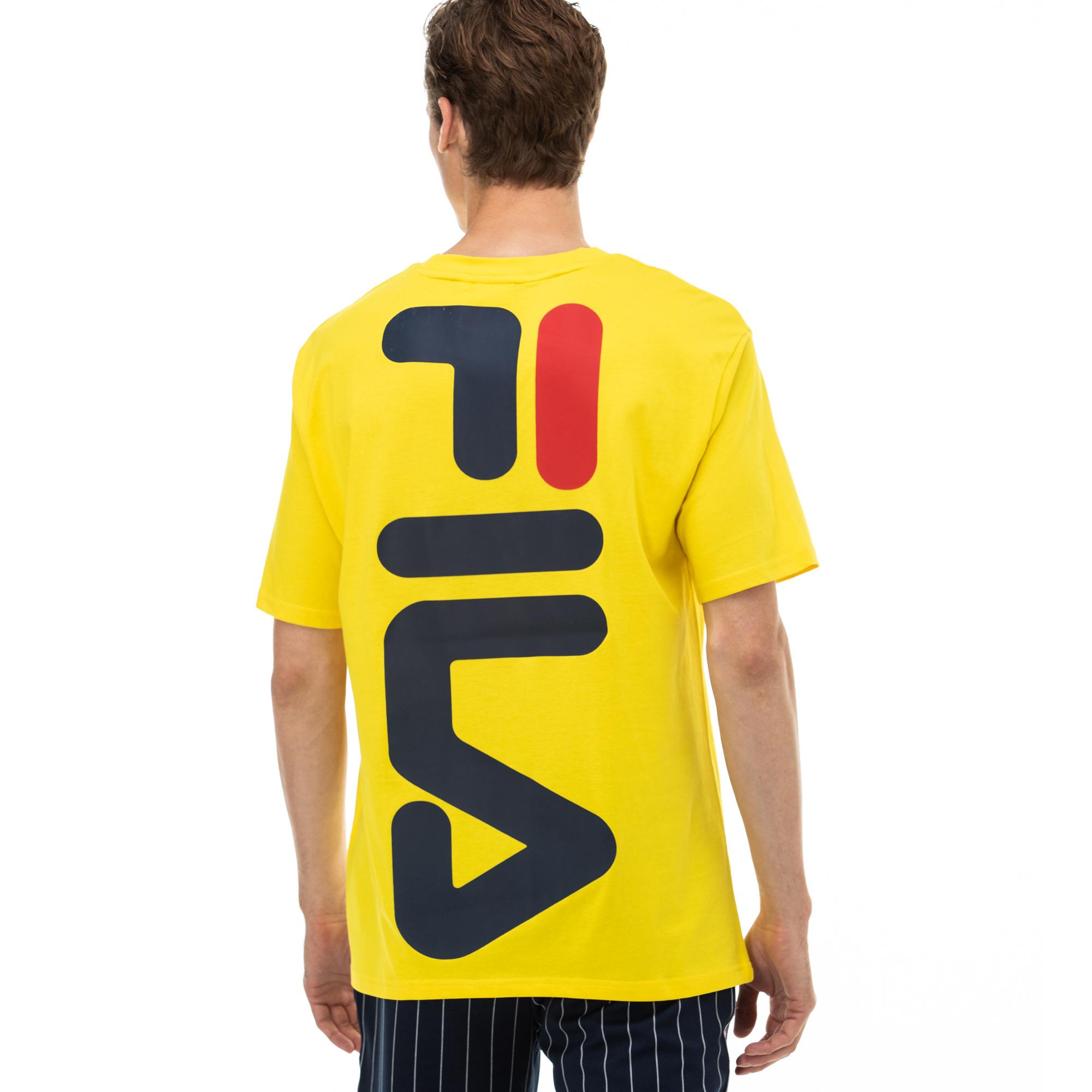 Fila Bender Erkek Sarı T-Shirt